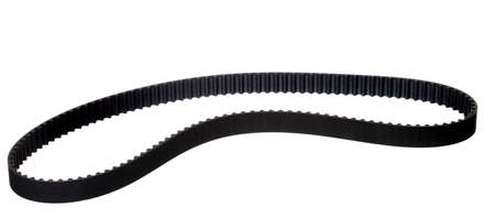 belt car engine timing belt isolated on white