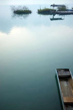 a quiet lake view