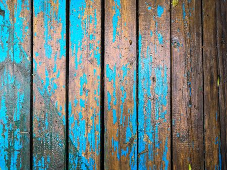 The old light blue brown wood texture with natural patterns Background