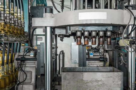 equipment for the manufacture of preforms for plastic bottles. PET production.