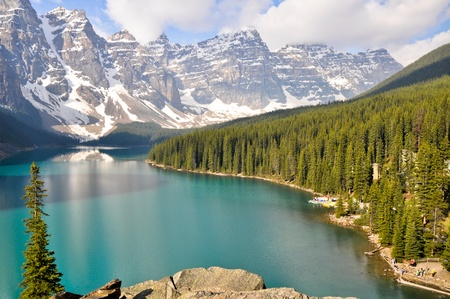 Moraine Lake Rocky Mountains Canada