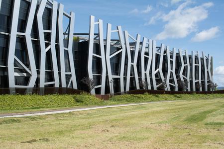 The modern Edificio Vital building  Inaugurated in 2007,  it s designed by architects Mozas-Aguirre