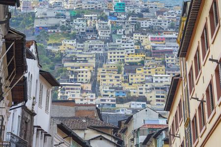 Suburbs of Quito, Ecuador