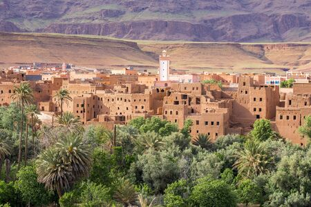 Town and oasis of Tinerhir Morocco
