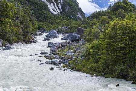Explorers river, Chile