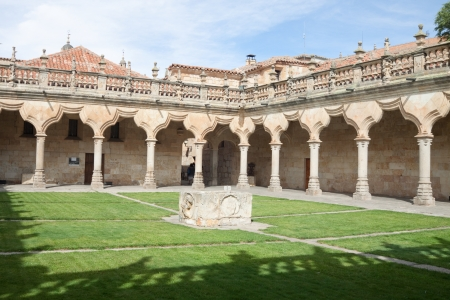 The University of Salamanca was founded in 1134  It is the oldest founded university in Spain and the third oldest in Europe  It includes Escuelas Mayores, the Escuelas Menores and the Hospital de Estudio  current rectoracte