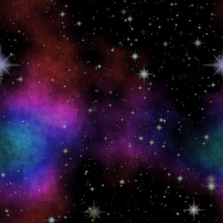 Nice starry sky or deep dark space and stars