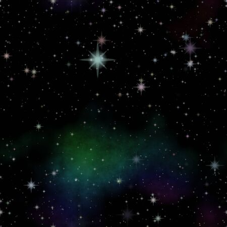 Nice starry sky or deep dark space and stars