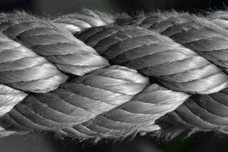 Rope, close-up photo