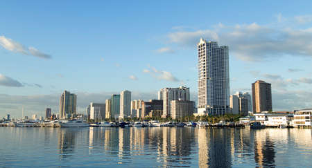 Foto de The picture of Manila bay, Philippines - Imagen libre de derechos