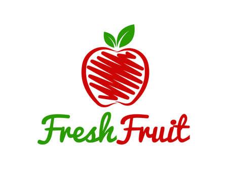 Illustration pour Fruit Logo - image libre de droit