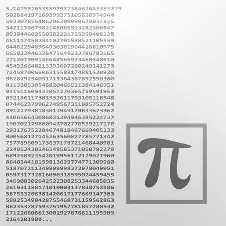 Mathematic element Pi.