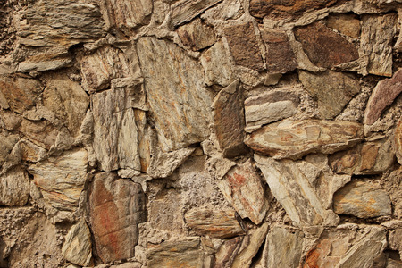 Beautiful Rock And Stone Walls Good For Background And Texture.