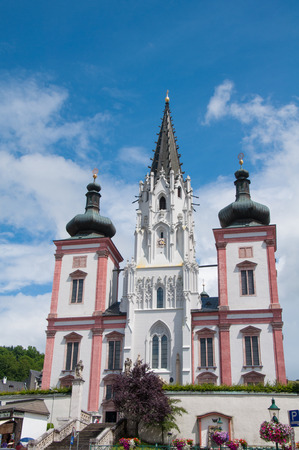 Famous Church in Mariazell Styria
