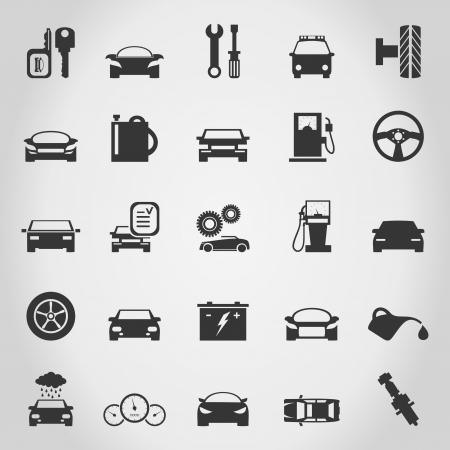 Set of icons transport  A illustration
