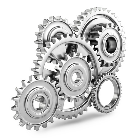Cog gears mechanism concept  3d