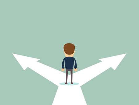 Illustration pour Business decision concept vector illustration. - image libre de droit
