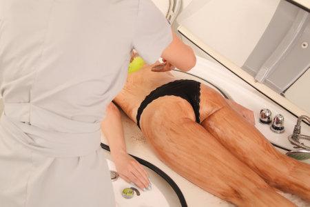Foto de Spa treatments for skin in the salon - Imagen libre de derechos