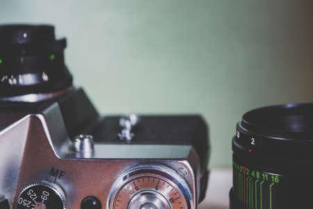 Retro camera and equipment