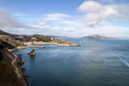Foto per Horseshoe Bay at San Francisco - Immagine Royalty Free