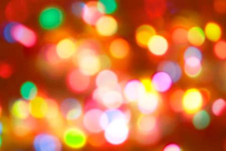 Photo pour Blurred bright autumn background. Abstract colorful bokeh - image libre de droit