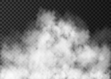 Illustration pour Realistic fire smoke or mist texture. - image libre de droit