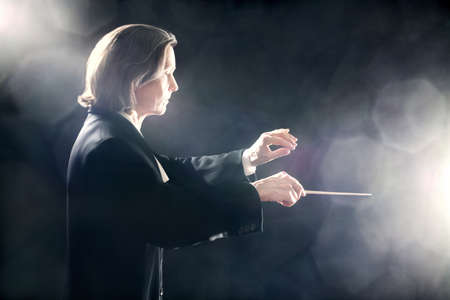 Orchestra conductor music conducting inspired maestro