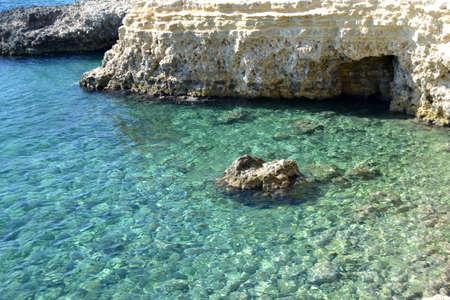 seascape of Sicily,location White Fountain (SR)