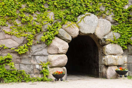 Main entrance to Kungsholm Fort in Karlskrona, Sweden