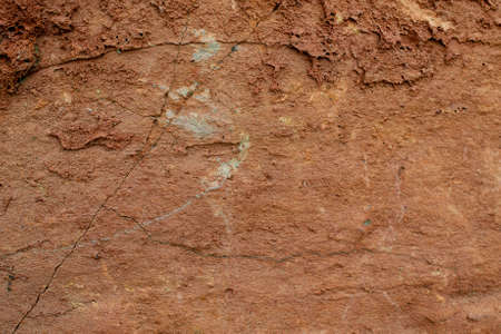 Closeup on a Volcanic Bomb - geology texture or background