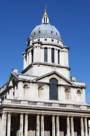 Royal Naval College in Greenwich  London, UK