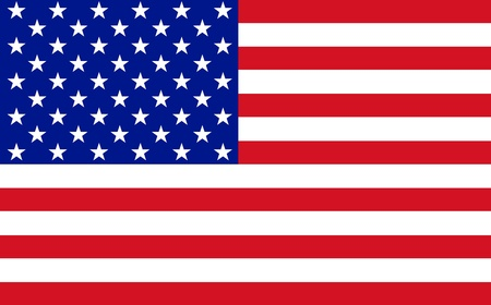 Photo pour Official flag of USA nation - image libre de droit