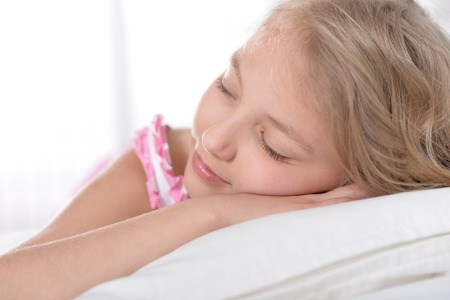 Photo for cute little girl sleeping - Royalty Free Image