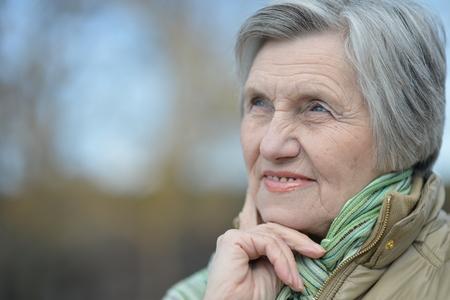 Photo for beautiful elder woman - Royalty Free Image
