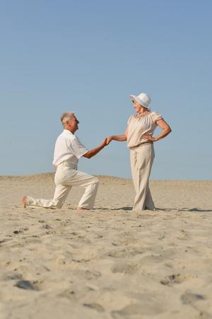 Foto de elderly couple in love - Imagen libre de derechos