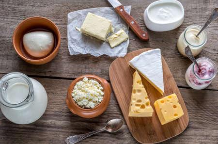 Photo pour dairy products - image libre de droit