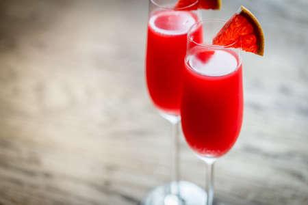 Photo pour Mimosa cocktail - image libre de droit