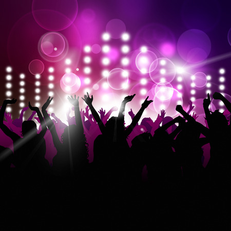 party music background for active night events