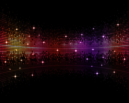 Photo for abstract multicolor music disco party events backgroud - Royalty Free Image
