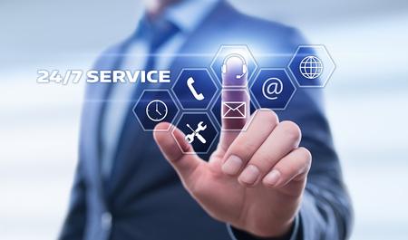 Photo pour Support Service Business concept. - image libre de droit