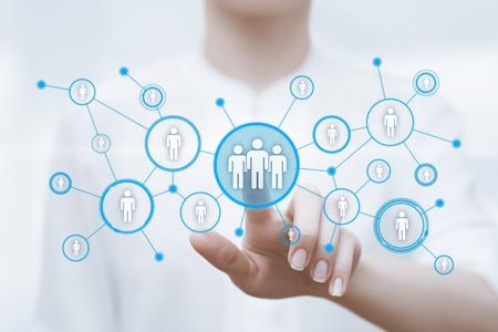 Photo pour Human Resources HR management Recruitment Employment Headhunting Concept. - image libre de droit