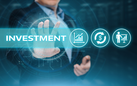 Investment Finance Success Banking Business Internet Technology Concept.