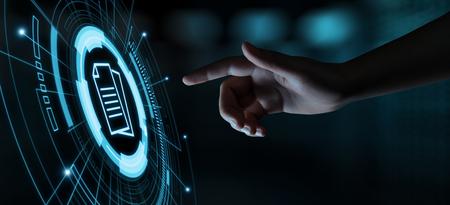 Foto de Document Management Data System Business Internet Technology Concept. - Imagen libre de derechos