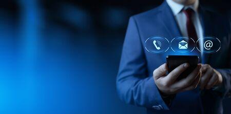 Photo pour Technical Support Center Customer Service Internet Business Technology Concept - image libre de droit