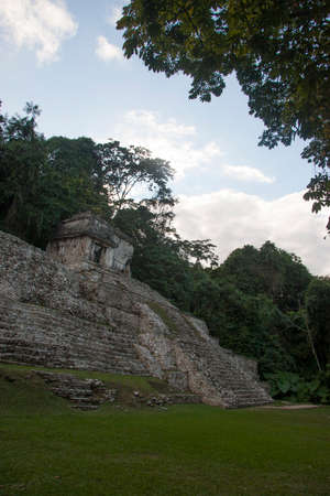 Archaeological zone of Palenque