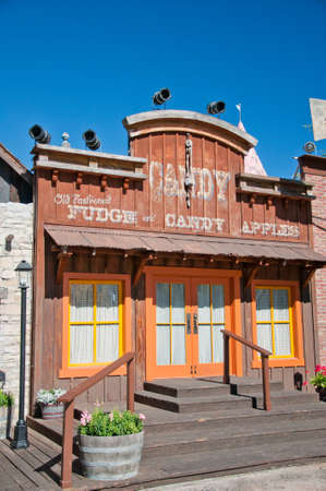 Building in Wild West style