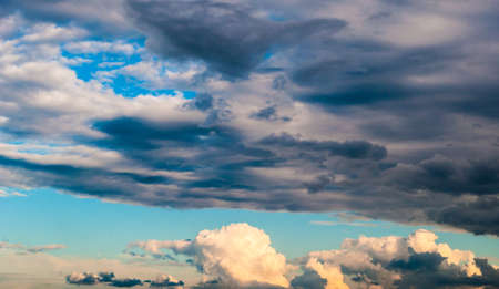 19:30 PM. Sky. clouds.