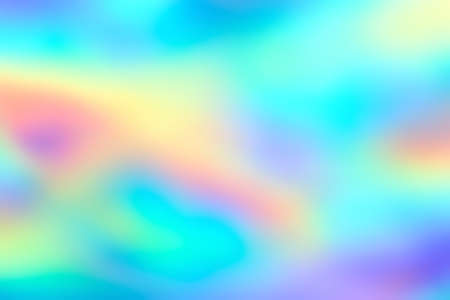 Photo for Blur holographic neon foil background. Abstract holographic background. Design template. - Royalty Free Image