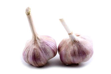 Foto für Garlic isolated on white - Lizenzfreies Bild