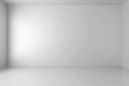 White interior of empty room